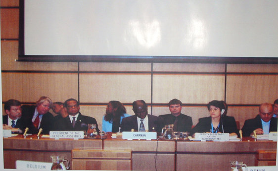 Part of COPUOS history